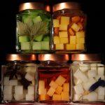 Zuccherini con erbe officinali aromatiche